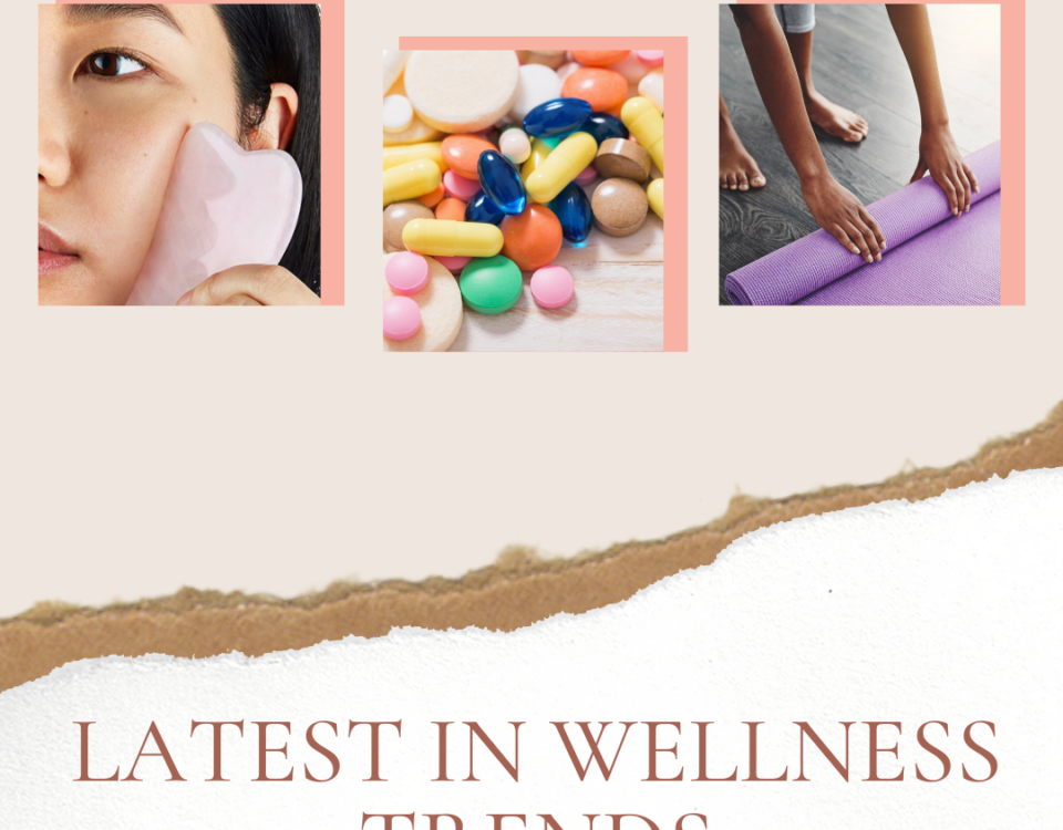 wellness trends collage