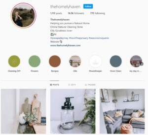 Instagram grid
