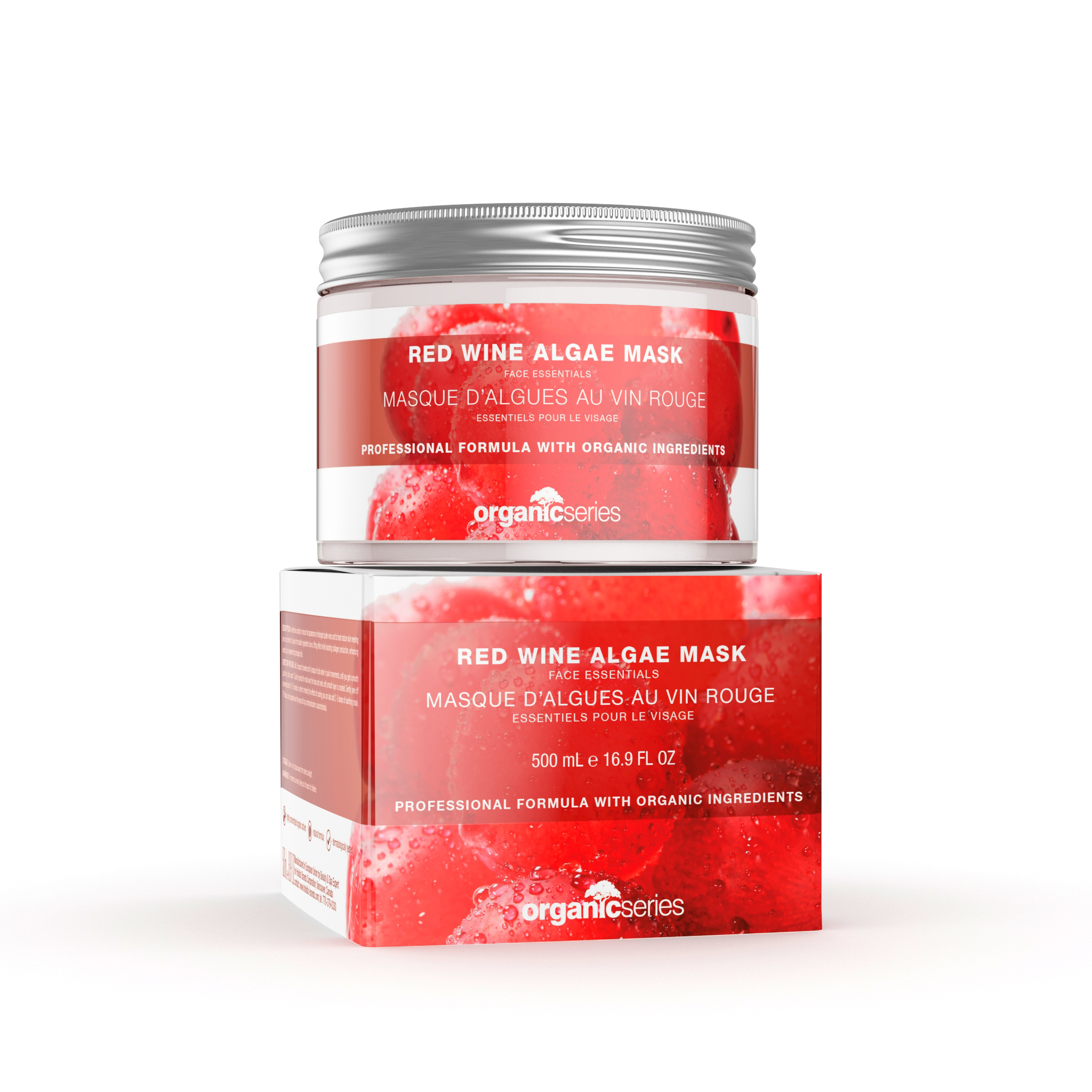red packaged product